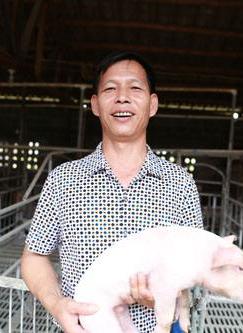 家庭养猪的养殖户
